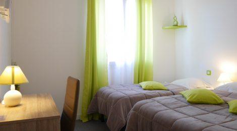 22 chambres avec salle de bain individuelle