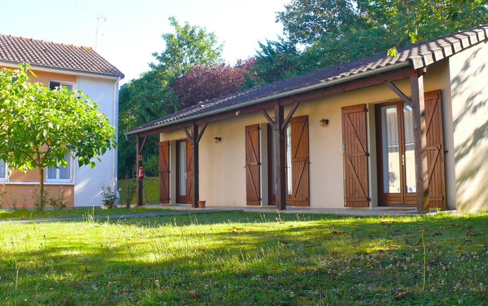 Chambres avec accès par le jardin